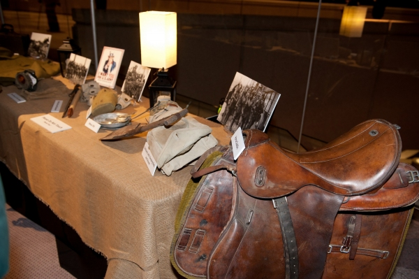Photo Flash: WAR HORSE Exhibit at Segerstrom Center for the Arts