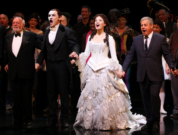 FREEZE FRAME: THE PHANTOM OF THE OPERA Celebrates 25th Anniversary Curtain Call!