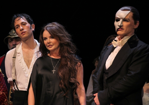 Photo Coverage: THE PHANTOM OF THE OPERA Celebrates 25th Anniversary Curtain Call!