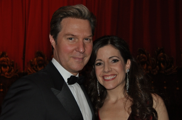 Ron Bohmer and Sandra Joseph  Photo