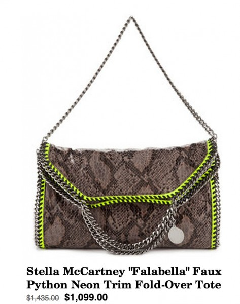 Daily Deal 1/27/13: Stella McCartney