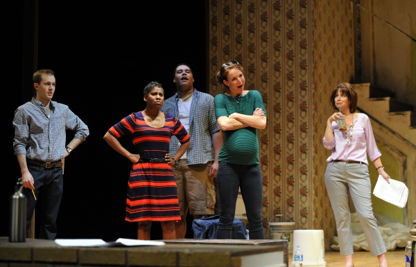 JOSH TOBIN as Tom, RASOOL JAHAN as Lena, NILAN JOHNSON as Kevin, KELSEY DIDION as Lindsey and CONSTANCE MACY as Kathy.