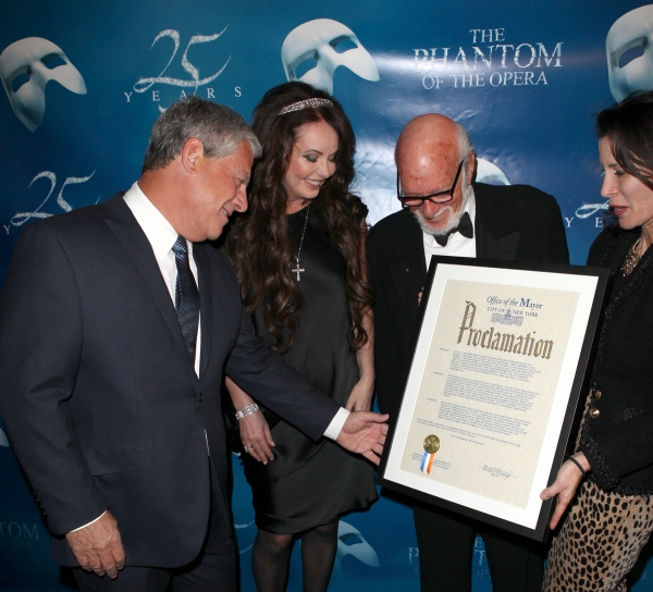 Photo Coverage: THE PHANTOM OF THE OPERA Day Proclamation - Sarah Brightman, Hal Prince and Cameron Mackintosh!