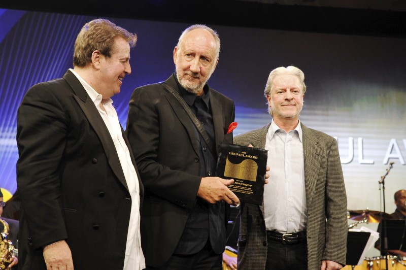 The Who's Pete Townshend Honored with 2013 Les Paul Award