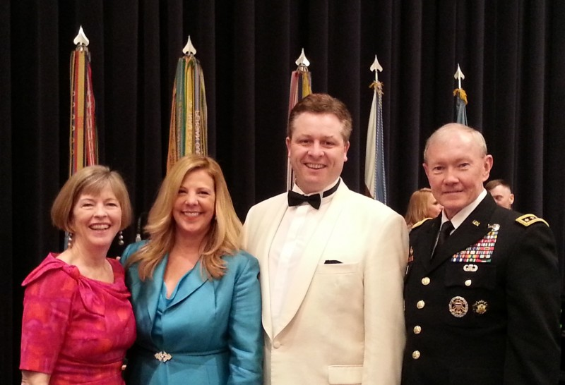 Tenor Anthony Kearns Performs at Pre-Inaugural Reception for Congressional Medal of Honor Society