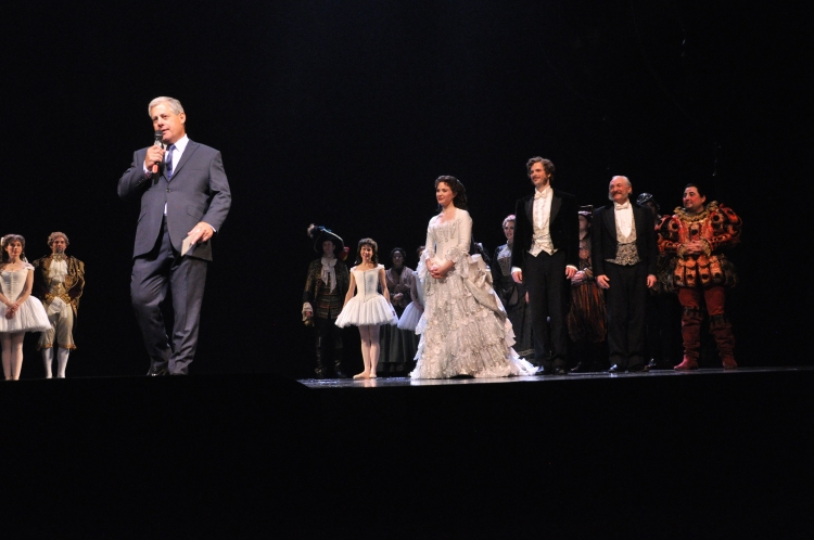 High Res Cameron Mackintosh, Sierra Boggess, Jim Weitzer and Tim Jerome
