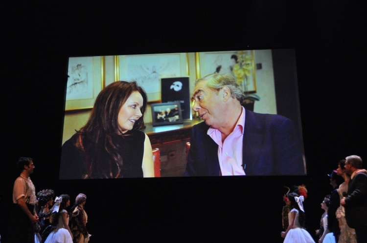High Res Sarah Brightman and Andrew Lloyd Webber