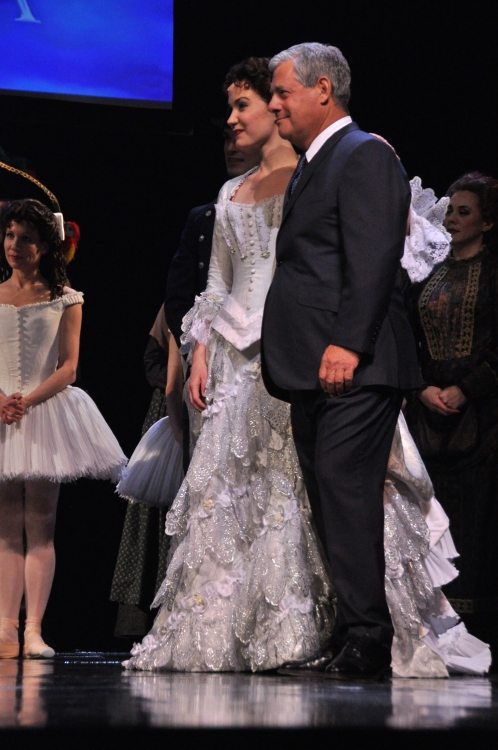 High Res Sierra Boggess and Cameron Mackintosh