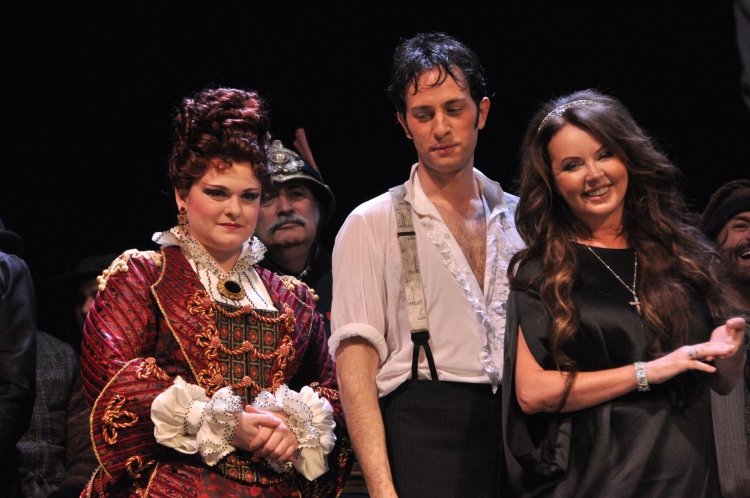 High Res Michele McConnell, Kyle Barisich and Sarah Brightman