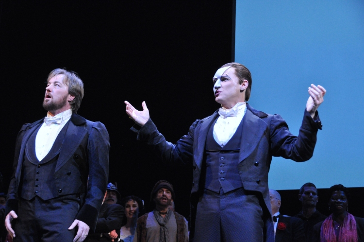 High Res John Owen Jones and Hugh Panaro