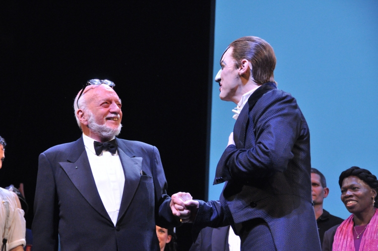 High Res Hal Prince and Hugh Panaro