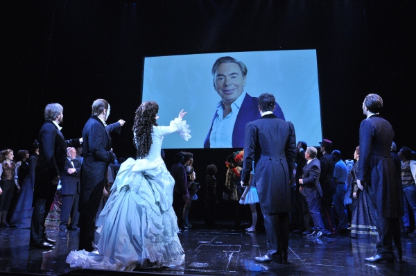 Photo Coverage: More from THE PHANTOM OF THE OPERA'S 25th Anniversary Curtain Call