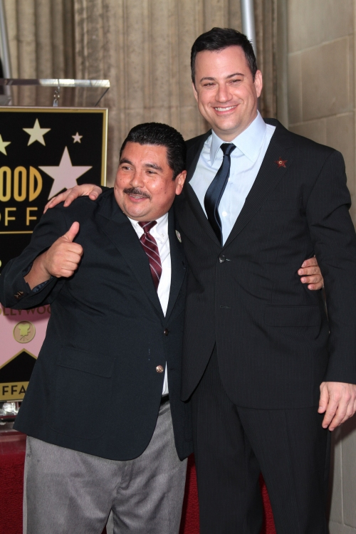 High Res Mandatory Credit: Photo by Jim Smeal / BEImages (1223640ad)Guillermo Rodriguez and Jimmy KimmelJimmy Kimmel Honored With Star On The Hollywood Walk Of Fame, Los Angeles, America - 25 Jan 2013