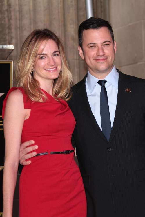 High Res Mandatory Credit: Photo by Jim Smeal / BEImages (1223640w)Jimmy Kimmel and fiancee Molly McNearneyJimmy Kimmel Honored With Star On The Hollywood Walk Of Fame, Los Angeles, America - 25 Jan 2013