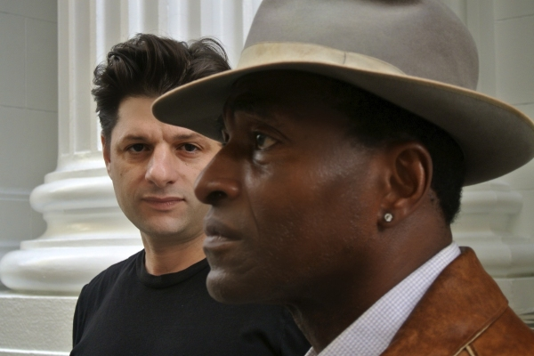 Photo Flash: Sneak Peek at Carl Lumbly and Gabriel Marin in SF Playhouse's THE MOTHERF**KER WITH THE HAT