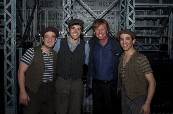 Photo Flash: Nigel Lythgoe and Adam Shankman Have SYTYCD Reunion at NEWSIES!