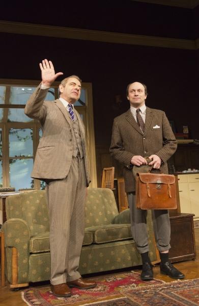 Rowan Atkinson and Will Keen Photo