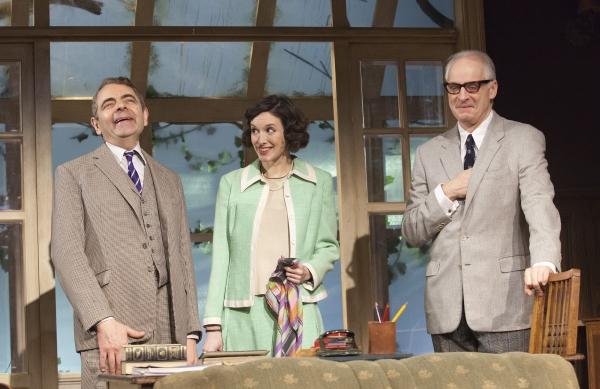 Rowan Atkinson, Louise Ford, Malcolm Sinclair Photo