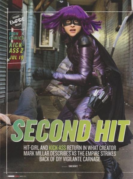 Photo Flash: First Look - Chloë Grace Moretz as KICK ASS 2's 'Hit Girl'