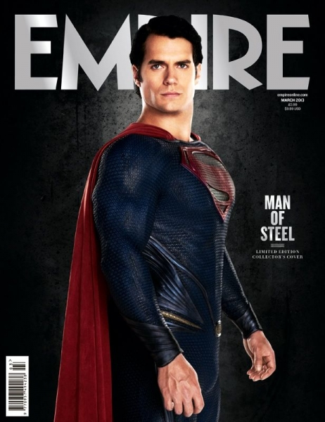 Photo Flash: First Look - Henry Cavill as MAN OF STEEL