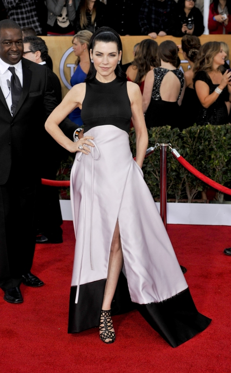 High Res Julianna Margulies wearing Chado Ralph Rucci