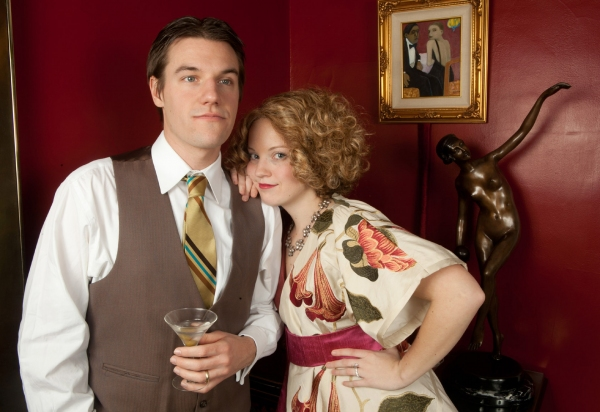 Photo Flash: First Look at Dead Writers Theatre Collective's TEA WITH EDIE AND FITZ