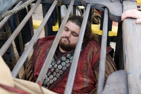 JORGE GARCIA at ONCE UPON A TIME's 'Tiny' Episode, Airing 2/10