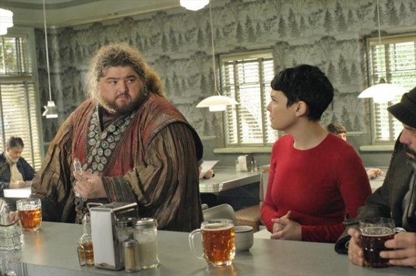 JORGE GARCIA, GINNIFER GOODWIN at ONCE UPON A TIME's 'Tiny' Episode, Airing 2/10