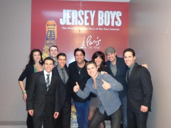 Photo Flash: Country Artist Dustin Lynch Attends JERSEY BOYS at Paris Las Vegas