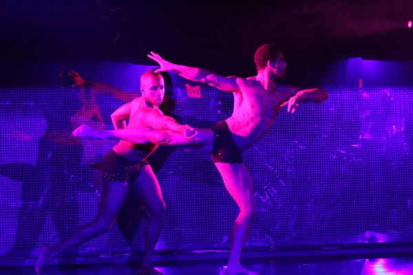 Christopher Jackson and Jamal Story in EXOTIC at First Look at BROADWAY BARES: WINTER BURLESQUE!