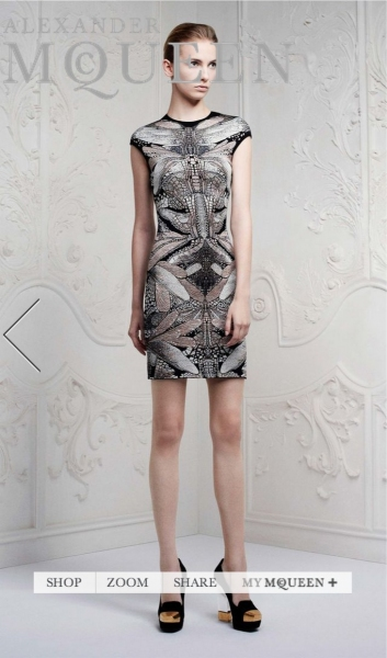 Photo Coverage: Alexander McQueen S/S 2013 Collection Preview