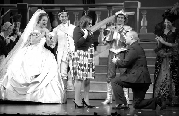 Photo Coverage: Magic in the Air at CINDERELLA the Musical with an Onstage Marriage Proposal!
