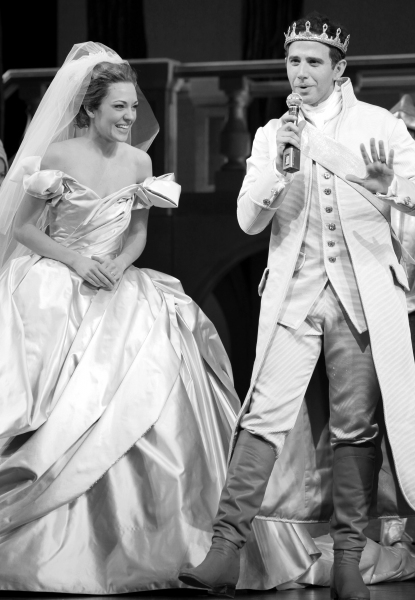 Laura Osnes & Santino Fontana  at Magic in the Air at CINDERELLA the Musical with an Onstage Marriage Proposal!