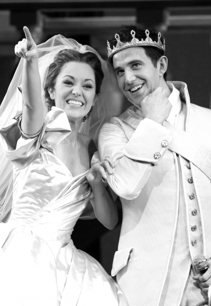 Laura Osnes & Santino Fontana