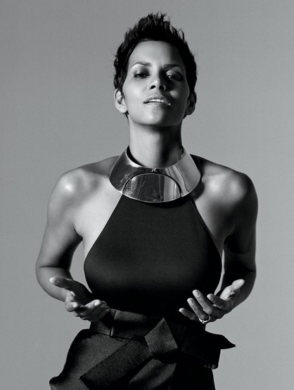 Halle Berry at First Look - Vanity Fair's 2013 HOLLYWOOD ISSUE COVER