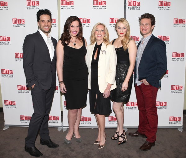 Will Swenson, Lindsay Mendez, Sherie Rene Scott, Betsy Wolfe, Jonathan Groff