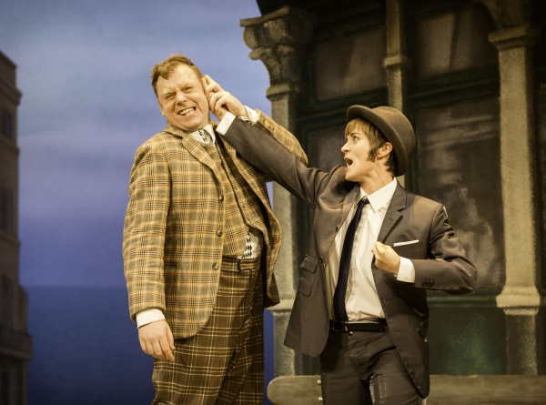 Photo Flash: Check Out New Photos from ONE MAN TWO GUVNORS!