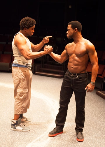 Photo Flash: First Look at Antwayn Hopper, Okieriete Onaodowan and More in Old Globe's THE BROTHERS SIZE