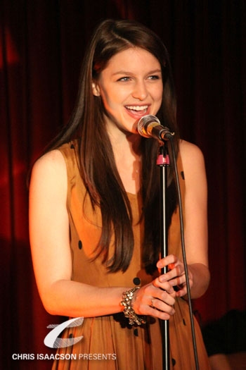 Melissa Benoist at Upright Cabaret