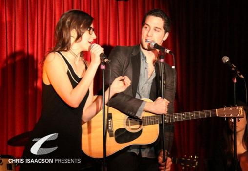 Kait Kerrigan and Jesse Ruben at Upright Cabaret