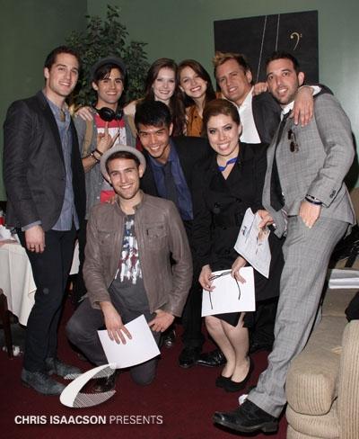 Jesse Ruben, Max Ehrich, Morgan Karr, Telly Leung, Meghann Fahy, Melissa Benoist, Jes Photo