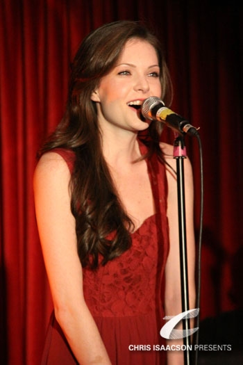 Meghann Fahy at Upright Cabaret