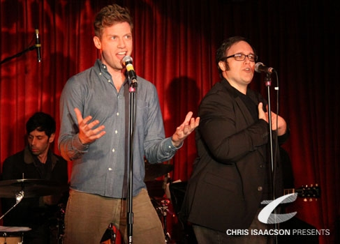 Barrett Foa and Randy Blair at Upright Cabaret