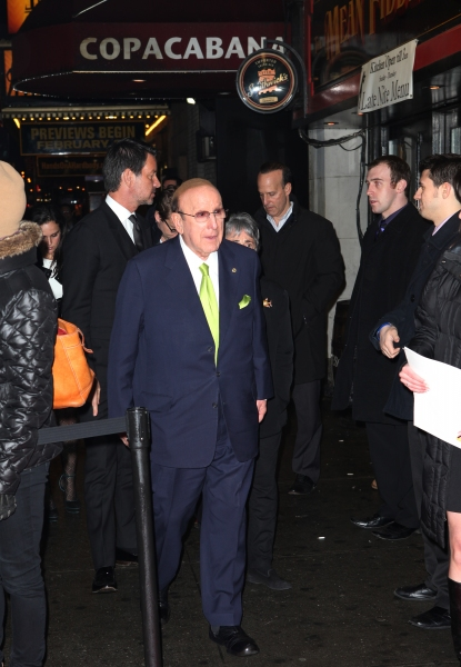Clive Davis at Inside MANILOW ON BROADWAY's Copacabana After Party!