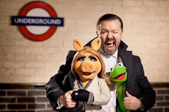 Miss Piggy, Ricky Gervais