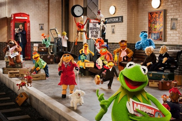 Photo Flash: First Look at Disney's THE MUPPETS... AGAIN!