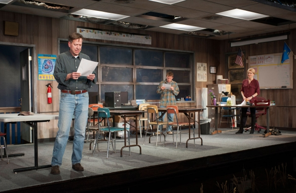 Photo Flash: First Look at Marty Lodge, Ben Charles and More in Milwaukee Rep's HOW THE WORLD BEGAN