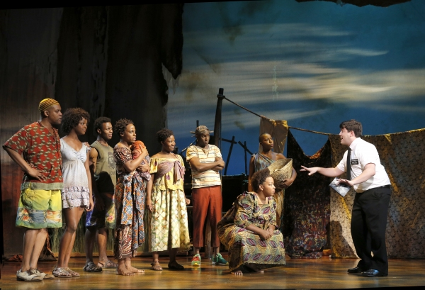 Photo Flash: First Look at Mark Evans and Christopher John O'Neill in THE BOOK OF MORMON National Tour!