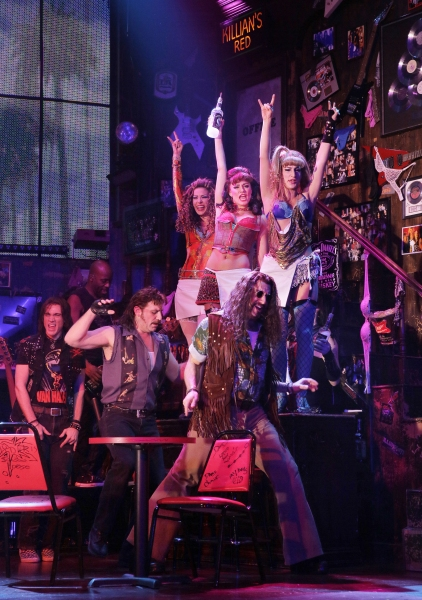Photo Flash: First Look at Kate Rockwell, Joey Calveri & Teresa Stanley in ROCK OF AGES