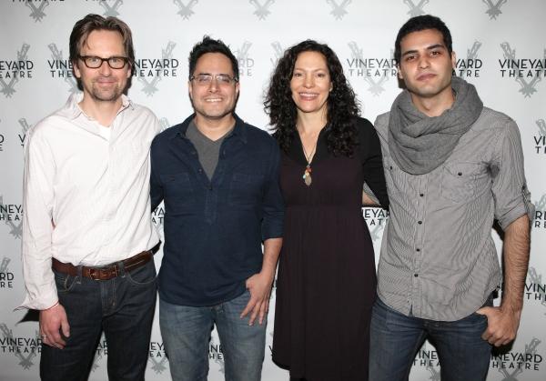 Stephen Barker Turner, Playwright Rajiv Joseph, Director Giovanna Sardelli & Babak Tafti